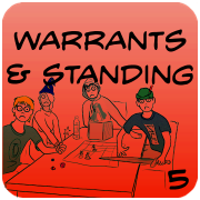 Search Warrants, Standing