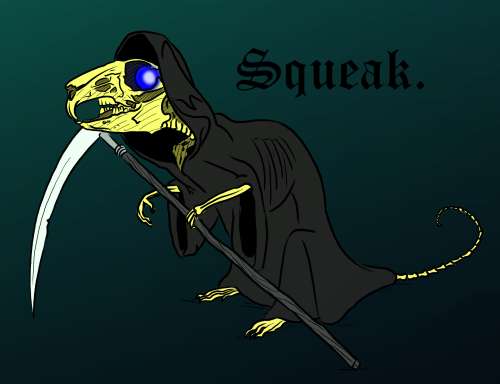 death of rats... SQUEAK!