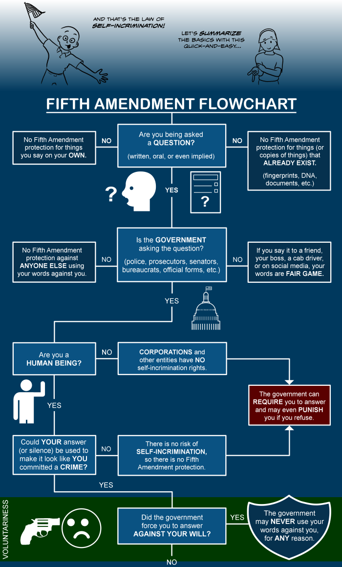 Fifth amendment flowchart the illustrated guide to law part 1 nvjuhfo Gallery